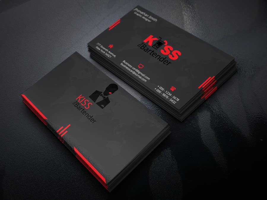 Entry #190 by Rasel7770 for Design some Business Cards for a mobile ...