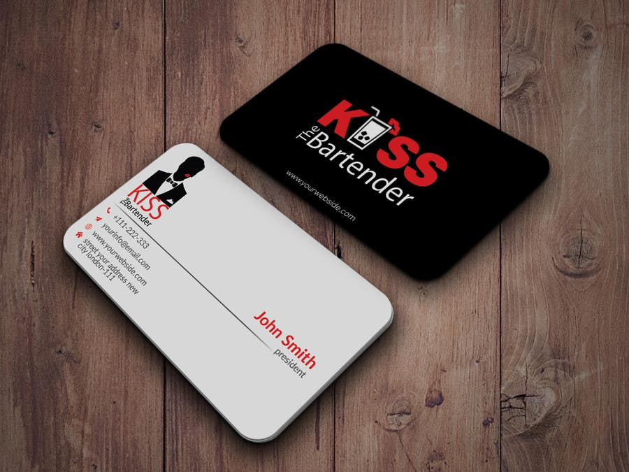 Entry #7 by HD12345 for Design some Business Cards for a mobile ...