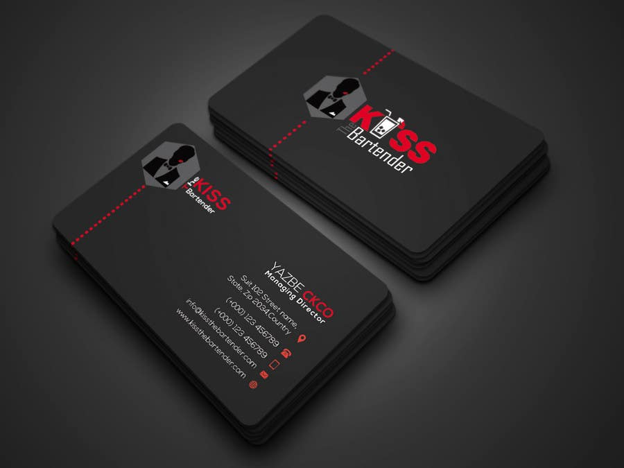 Entry 173 by robiul215 for design some business cards for a mobile contest entry 173 for design some business cards for a mobile bartending business colourmoves