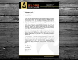 #28 for Letterhead Design (Only a regular A4 Page) for my company by cucgachvn