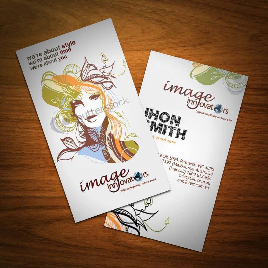 Konkurrenceindlæg #13 for Business Card Design for Image Innovators
