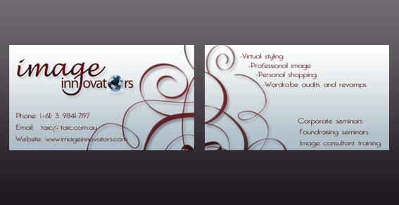 Konkurrenceindlæg #66 for Business Card Design for Image Innovators