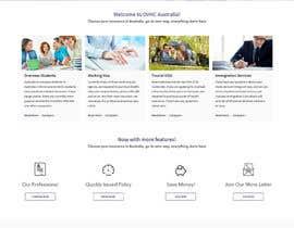 Nro 36 kilpailuun Re-design a Website for www.ovhcaustralia.com käyttäjältä Poornah