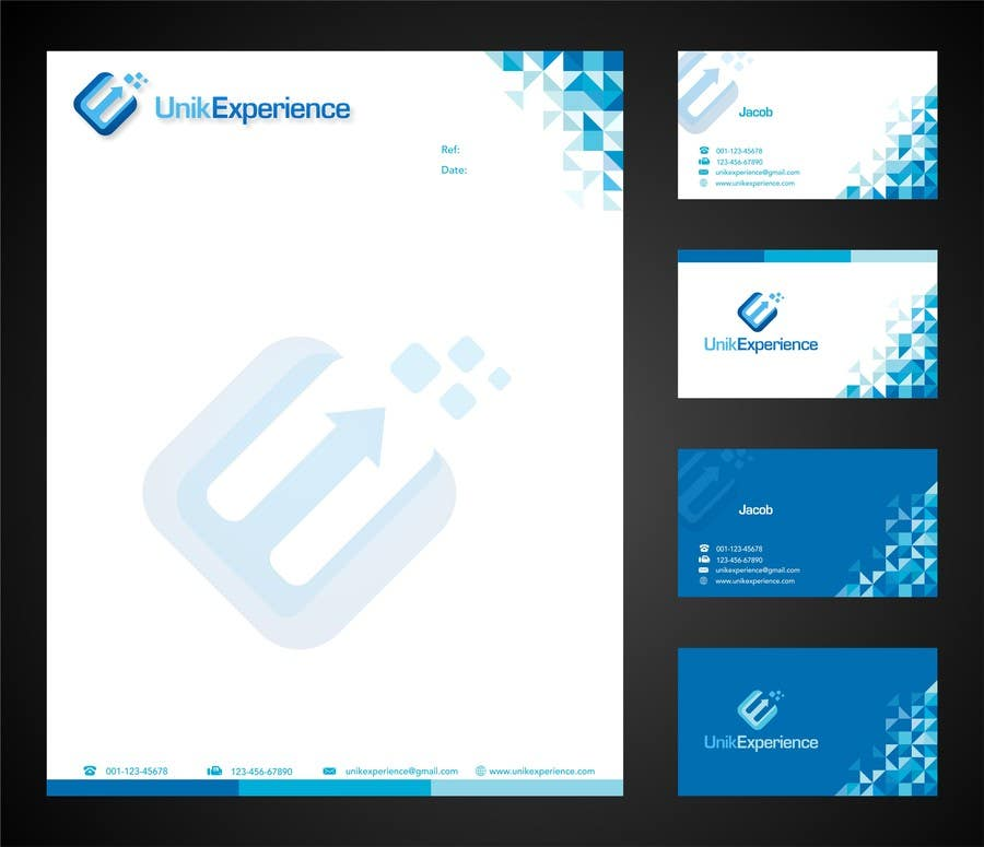 #18 for Design Business Cards for Unik Experience by jummachangezi