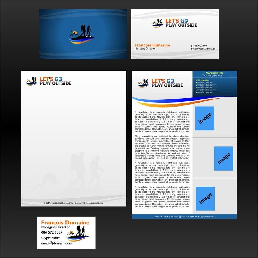 Inscrição nº 34 do Concurso para Design Business Cards... for Let's Go Play Outside