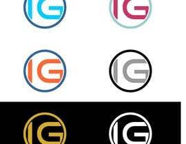 Nro 66 kilpailuun Design Modern Logo with letters IG käyttäjältä gbeke