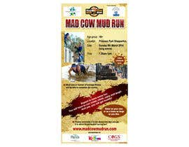 #20 para Design a Flyer/Poster for Mad Cow Mud Run por prasanthmangad