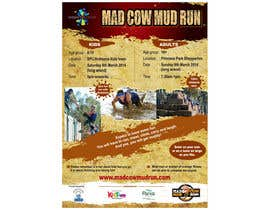 #27 for Design a Flyer/Poster for Mad Cow Mud Run by prasanthmangad