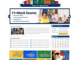 #11 para Design a Website Mockup for my website por MagicalDesigner