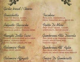 #10 para Menu for Italian Restaurant por stniavla