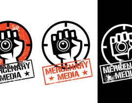 #150 pentru Logo Cartoon Design for Mercenary Media de către benpics