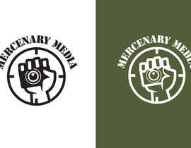 #133 untuk Logo Cartoon Design for Mercenary Media oleh benpics