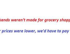 Nro 9 kilpailuun Slogan/Key message for Indian Grocery Website käyttäjältä wthigroves