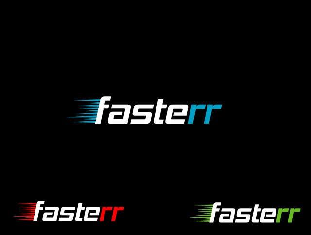#487 for Design a Logo for fasterr.com by saimarehan