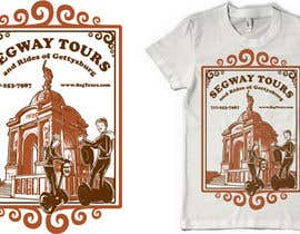 #58 para T-shirt Design for Segway Tours of Gettysburg por blastart