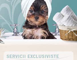 #38 for Pet Grooming Salon New Flyer Design af cristinacroitoru