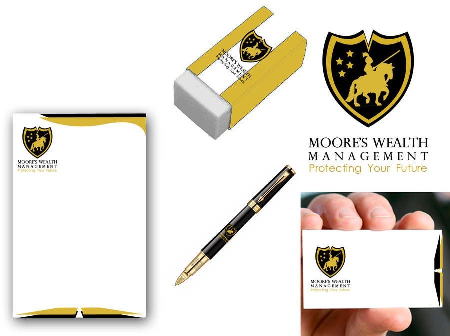 Konkurrenceindlæg #51 for Re-Design a Logo for Moore's Wealth Management
