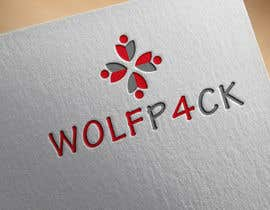 malas55 tarafından WOLFP4CK Logo Design için no 59