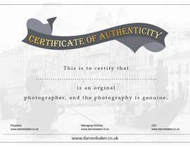 #17 for Design a certificate by jobee