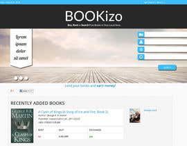 #40 for Redesign Bookizo.com Homepage by valentinafurno