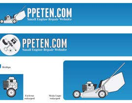 nº 197 pour Design a Logo & Favicon for PPETEN.COM Small Engine Repair Website par catalins
