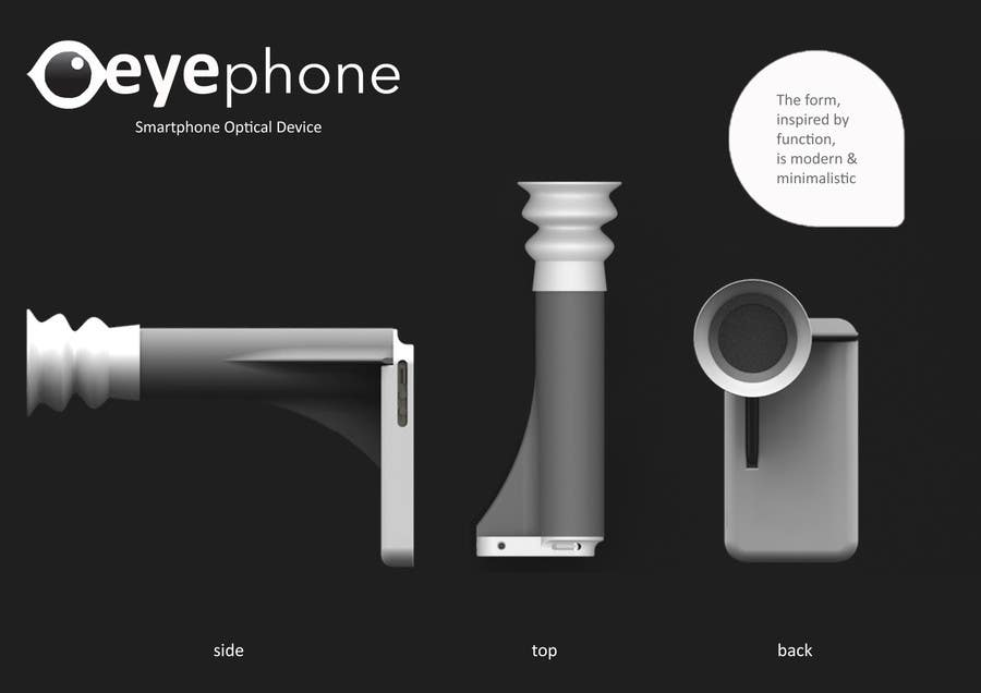 Contest Entry #13 for Creative product design for a medical optics device