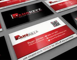 #2 for Design a Business Card for PianoKeyz, an online membership site for piano lessons af midget