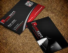 #45 for Design a Business Card for PianoKeyz, an online membership site for piano lessons af pipra99