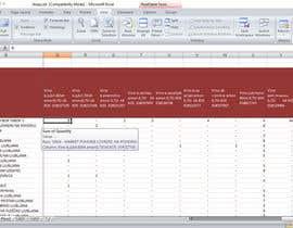 Nro 19 kilpailuun 2 excel documents merging into one käyttäjältä hem4ntHemant