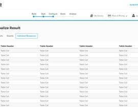Nro 16 kilpailuun Design a web application layout mockup - only one page - first of many projects käyttäjältä Jebzel