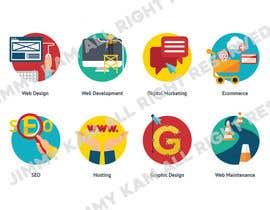 #6 for Original Graphical Icons by fb5747e5b376d60