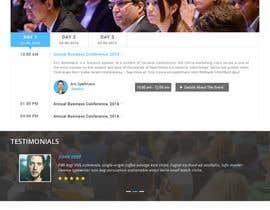 Nro 7 kilpailuun Website design for public speaker käyttäjältä doomshellsl