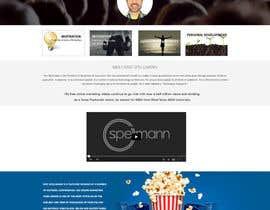 Nro 26 kilpailuun Website design for public speaker käyttäjältä jkphugat
