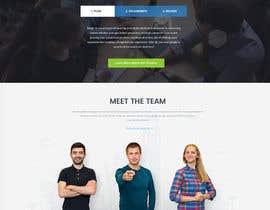 Nro 5 kilpailuun Design a Website Mockup for a UK based design startup käyttäjältä creativemintus