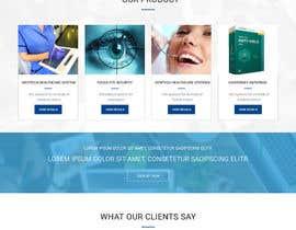 Nro 6 kilpailuun Design modern style Website Mockup käyttäjältä webmastersud