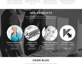 Nro 12 kilpailuun Design modern style Website Mockup käyttäjältä creativehoba