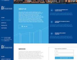 Nro 14 kilpailuun Design modern style Website Mockup käyttäjältä Obscurus