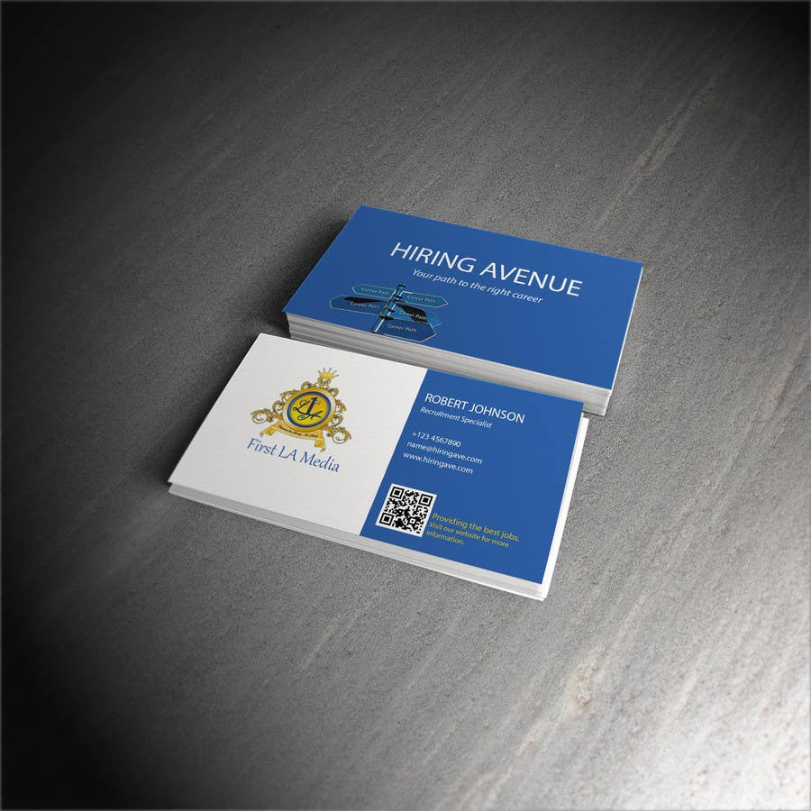 Konkurrenceindlæg #5 for Design some Business Cards and get hire for more tasks !