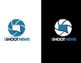 #296 para Logo Design for iShootNews por twindesigner
