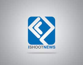 #381 para Logo Design for iShootNews por neim4art