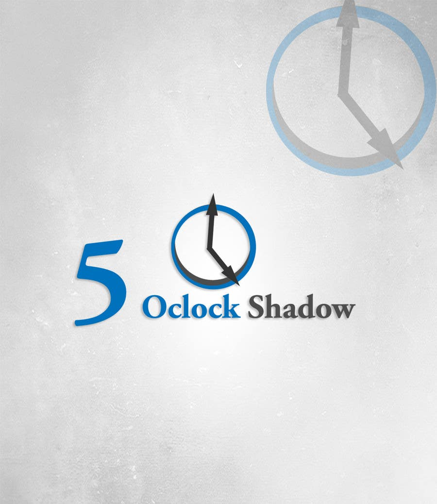 #2 for Design a Logo and banner for 5 Oclock Shadow by manuel0827