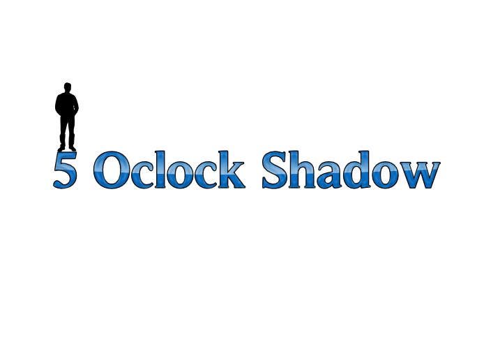 #12 for Design a Logo and banner for 5 Oclock Shadow by dmitrigor1