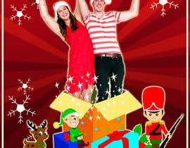 Nro 15 kilpailuun Illustrate two people bursting out of a Christmas Gift käyttäjältä hallowgraphics