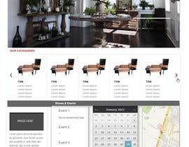 #2 para Design a Website Mockup for our company HOME PAGE ONLY por fmsufi