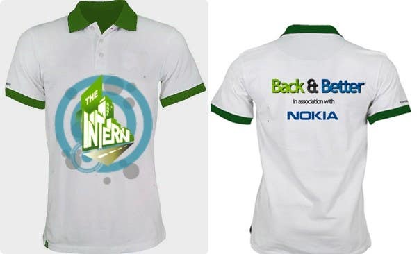 #21 for Design a T-Shirt for THE INTERN BUSINESS REALITY SHOW by reblien