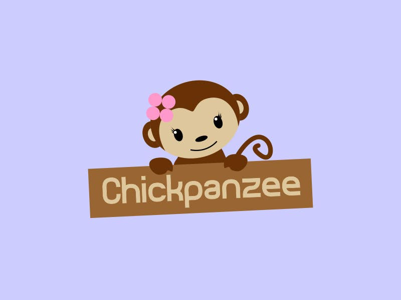 Kilpailutyö #103 kilpailussa Cute Monkey Design