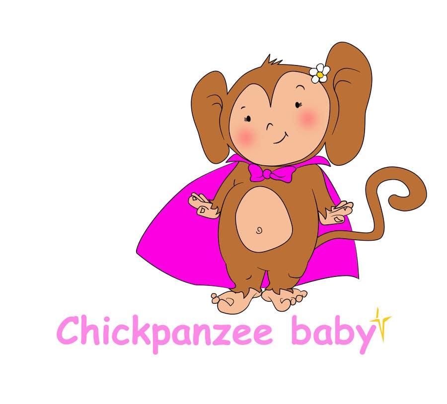 Penyertaan Peraduan #88 untuk Cute Monkey Design