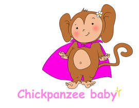 #88 para Cute Monkey Design por passion4creation
