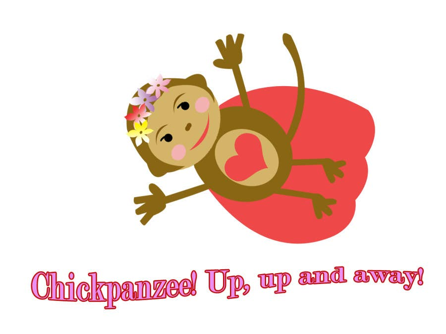 Penyertaan Peraduan #46 untuk Cute Monkey Design