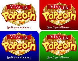 #52 para Design a Logo for a Fun online Popcorn Store! por nivleiks